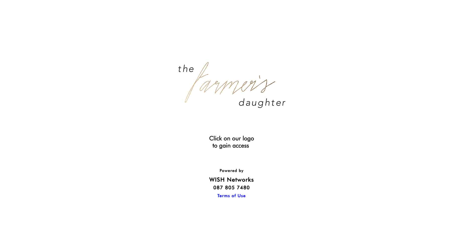 The Farmers Daughter Splash